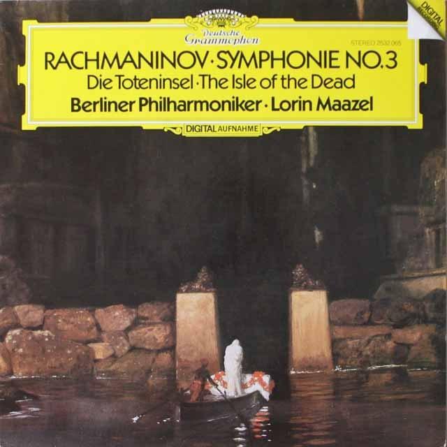 マゼールのラフマニノフ/交響曲第3番ほか 独DGG 3331 LP レコード