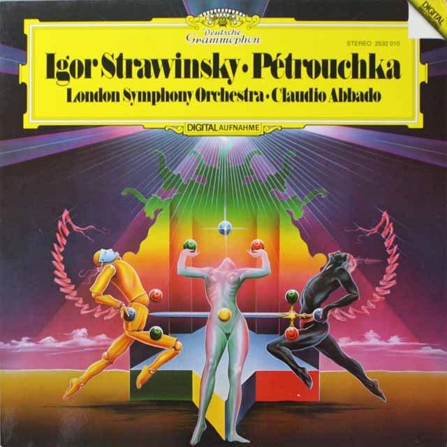 アバドのストラヴィンスキー/「ペトルーシュカ」 独DGG 3331 LP レコード