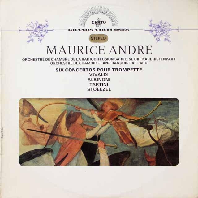 アンドレのトランペット協奏曲集 仏ERATO 3331 LP レコード