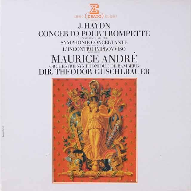 アンドレのハイドン/トランペット協奏曲ほか 仏ERATO 3331 LP レコード