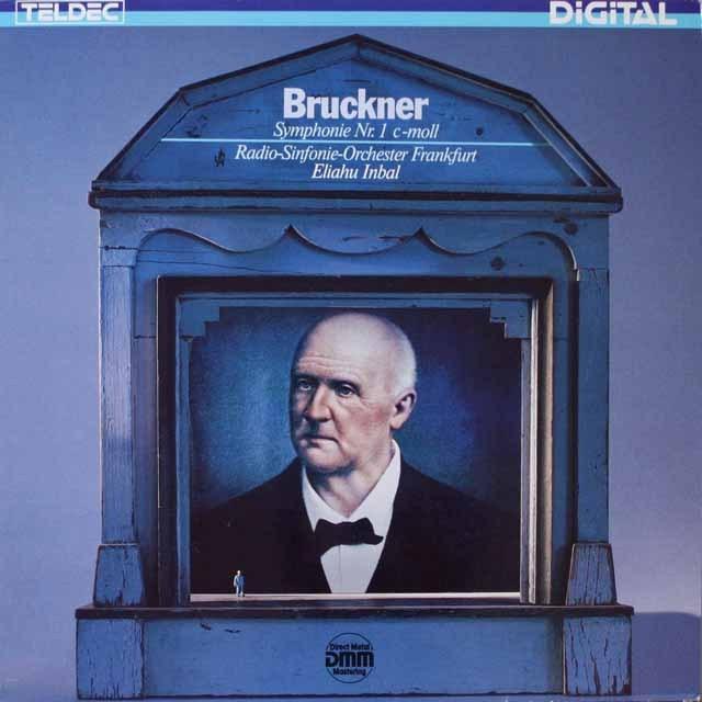 インバルのブルックナー/交響曲第1番 独TELDEC 3321 LP レコード