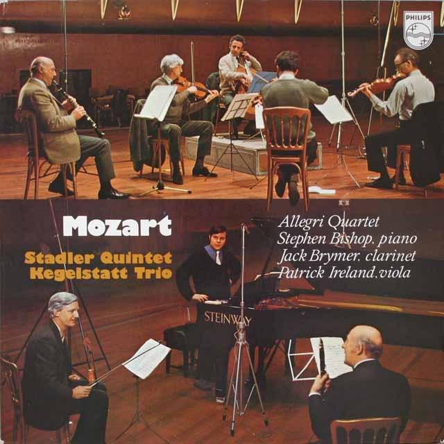 アレグリカルテットのモーツァルト/室内楽曲集 英PHILIPS  2602 LP レコード