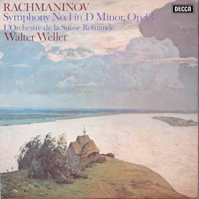 【オリジナル盤】ウェラーのラフマニノフ/交響曲第1番 英DECCA 3321 LP レコード