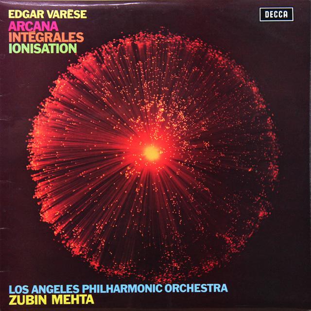 【オリジナル盤】 メータのヴァレーズ/「アルカナ」ほか 英DECCA 3290 LP レコード