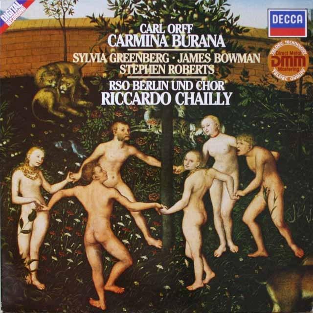 シャイーのオルフ/「カルミナ・ブラーナ」 独DECCA 2603 LP レコード