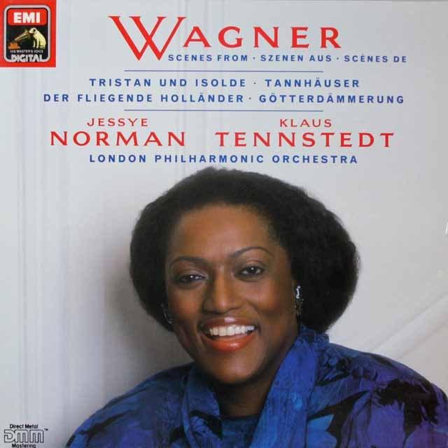 ノーマン&テンシュテットのワーグナー/アリア集 独EMI   2622 LP レコード