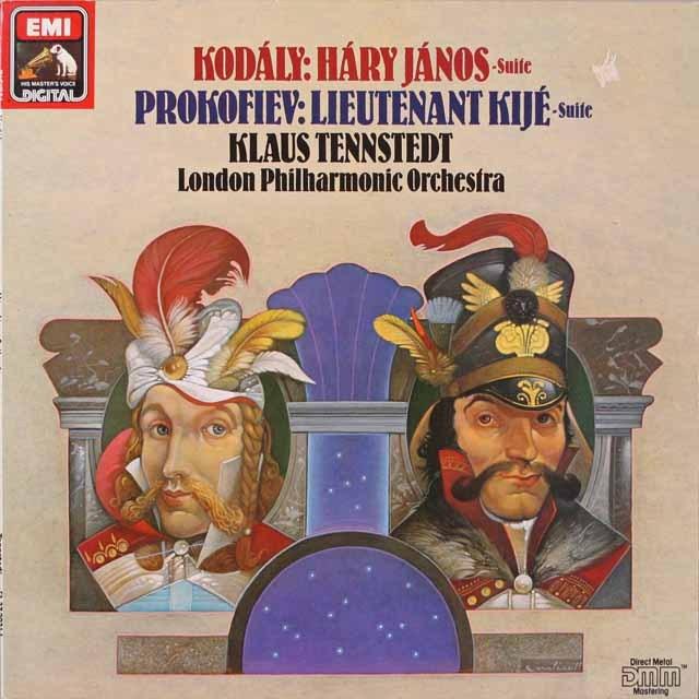 テンシュテットのコダーイ/「ハーリ・ヤーノシュ」ほか 英EMI   2622 LP レコード