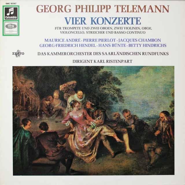 リステンパルトのテルマン/協奏曲集 独EMI   2622 LP レコード