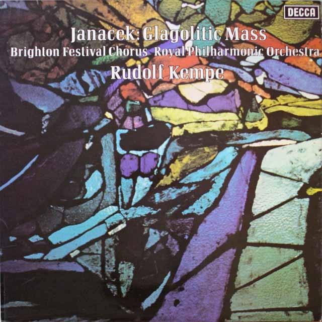 【オリジナル盤】 ケンペのヤナーチェク/「グラゴル・ミサ」 英DECCA 3324 LP レコード