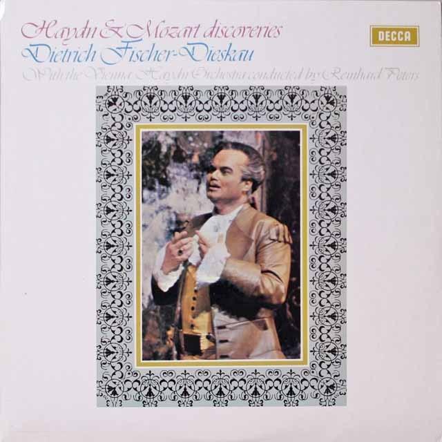 【オリジナル盤】F=ディースカウのハイドン&モーツァルト/「珍しいアリア集」 英DECCA 3324 LP レコード