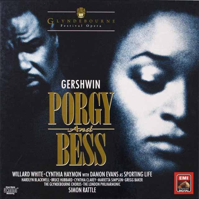 ラトルのガーシュウィン/「ポーギーとベス」 独EMI 2624 LP レコード