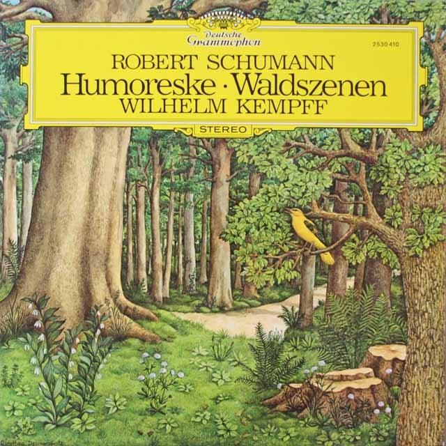 ケンプのシューマン/「フモレスケ」&「森の情景」  独DGG  2625 LP レコード