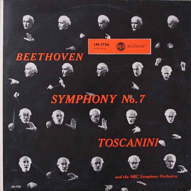 トスカニーニのベートーヴェン/交響曲第7番  独RCA  2625 LP レコード