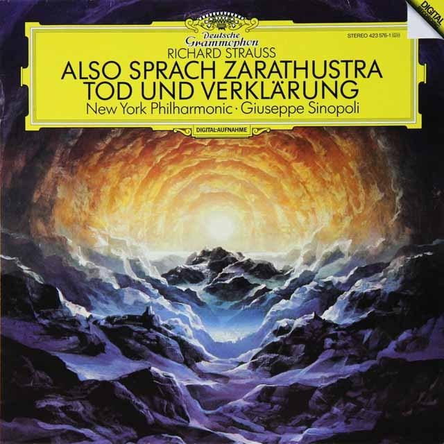 シノーポリのR.シュトラウス/「ツァラツウストラはかく語りき」ほか 独DGG 2728 LP レコード