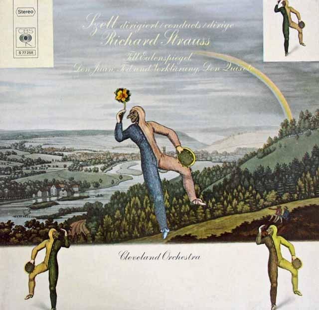 フルニエ&セルのR.シュトラウス/「ドン・キホーテ」ほか 独CBS 3293 LP レコード