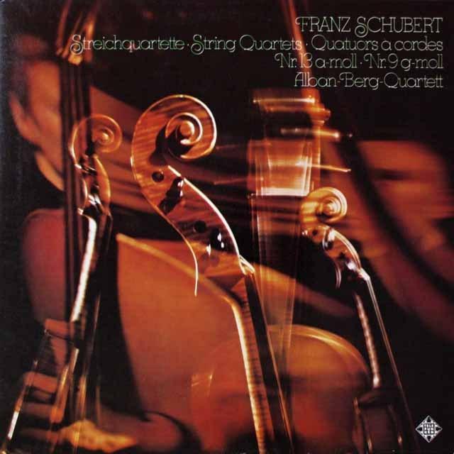 アルバン・ベルクSQのシューベルト/弦楽四重奏曲第13&9番  独TELEFUNKEN  2623 LP レコード