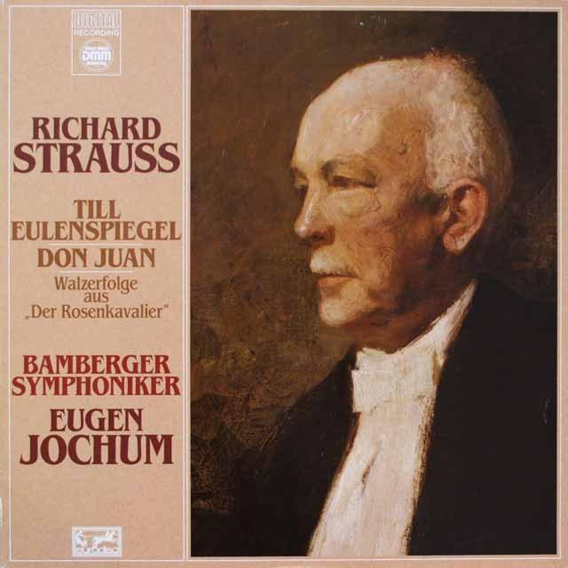 ヨッフムのR.シュトラウス/「ティル」ほか 独EURODISC 3328 LP レコード