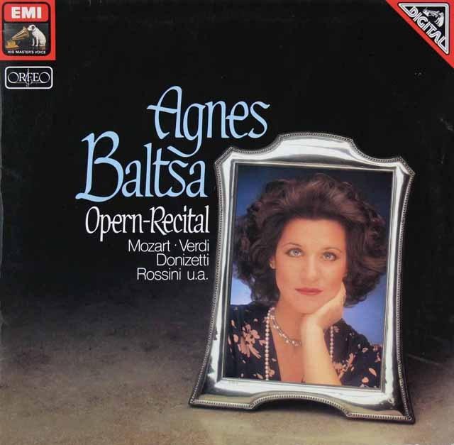 バルツァのオペラ・リサイタル 独EMI 3293 LP レコード