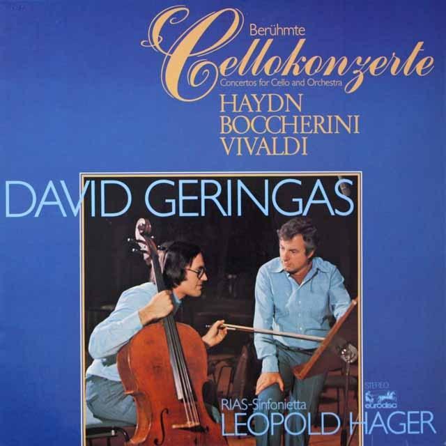 ゲリンガスのハイドン/チェロ協奏曲第1番ほか 独EURODISC 3328 LP レコード