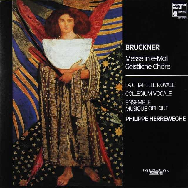 ヘレヴェッヘのブルックナー/ミサ曲第2番ホ短調 独HM 3289 LP レコード