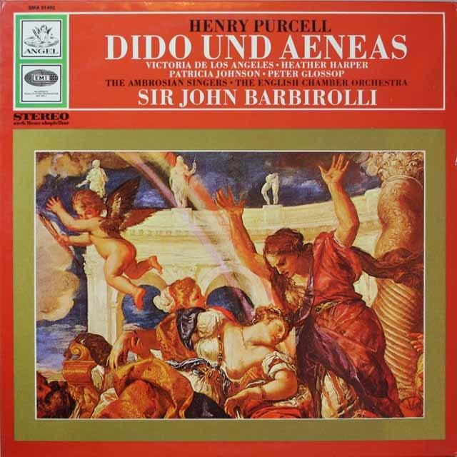 バルビローリのパーセル/「ディドとエネアス」 独EMI 3328 LP レコード