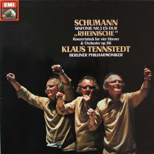 テンシュテットのシューマン/交響曲第3番「ライン」ほか 独EMI 2610 LP レコード