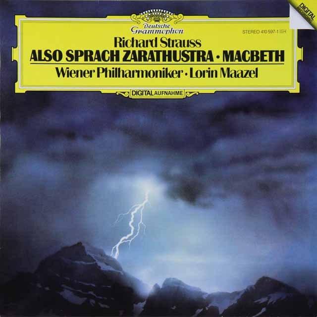 マゼールのR.シュトラウス/「ツァラツストラ」ほか 独DGG 3289 LP レコード