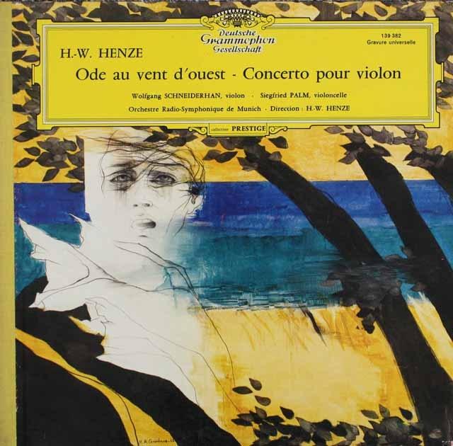 ヘンツェ/西風への頌歌、ヴァイオリン協奏曲第1番