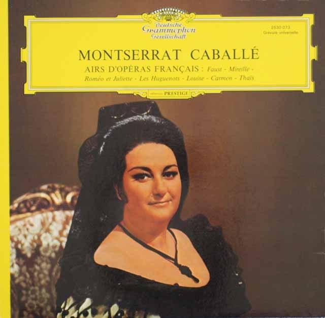 カバリエのフランス・オペラ・アリア集