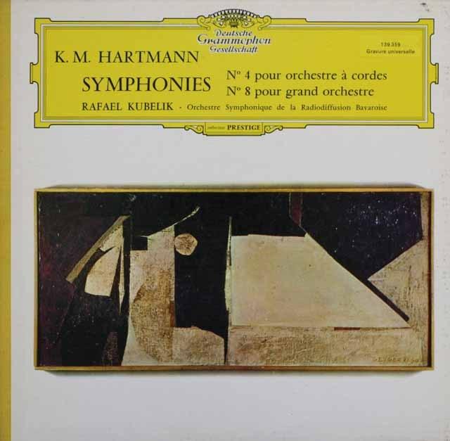 クーベリックのハルトマン/交響曲第4、8番