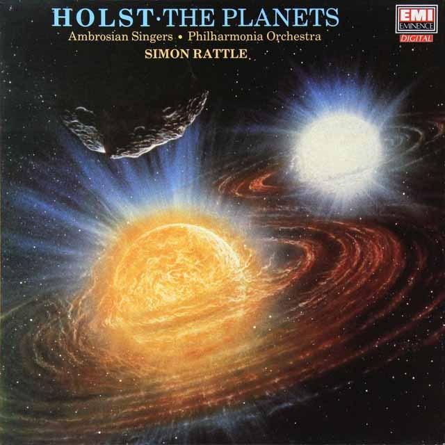 ラトルのホルスト/「惑星」 英EMI 2730 LP レコード