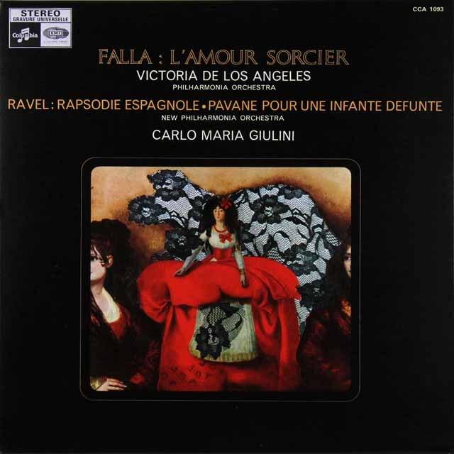 ジュリーニのファリャ/「恋は魔術師」 仏columbia LP レコード
