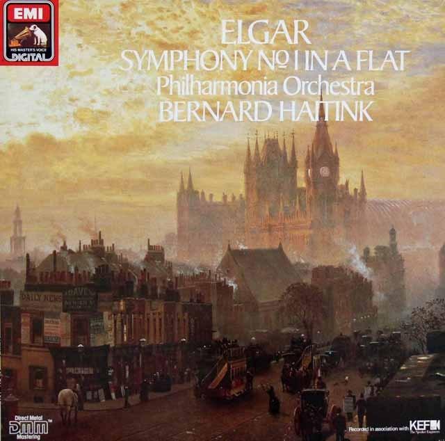 ハイティンクのエルガー/交響曲第1番 独EMI 3286 LP レコード