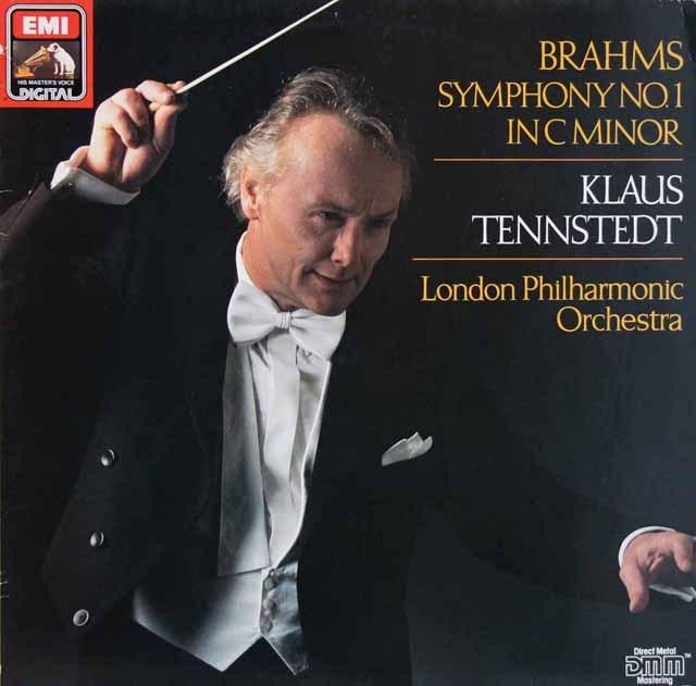 テンシュテットのブラームス/交響曲第1番 独EMI 2902 LP レコード