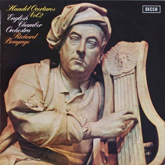 ボニングのヘンデル/序曲集(2) 英DECCA 3329 LP レコード