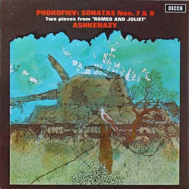アシュケナージのプロコフィエフ/ピアノソナタ第7、8番 英DECCA 3329 LP レコード