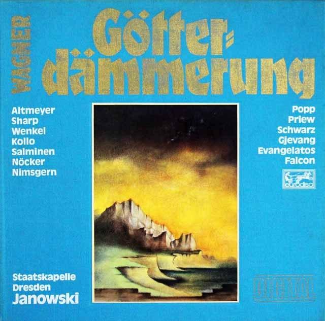ヤノフスキのワーグナー/「神々の黄昏」 独eurodisc 3286 LP レコード