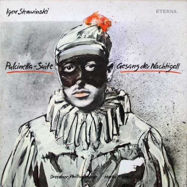 ケーゲルのストラヴィンスキー/「プルチネルラ」ほか  独ETERNA  2626 LP レコード