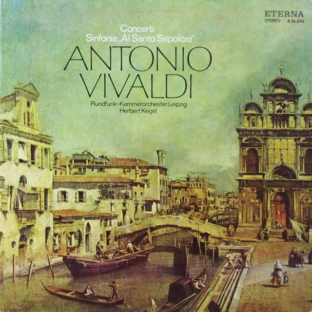ケーゲルのヴィヴァルディ/協奏曲とシンフォニア  独ETERNA  2626 LP レコード