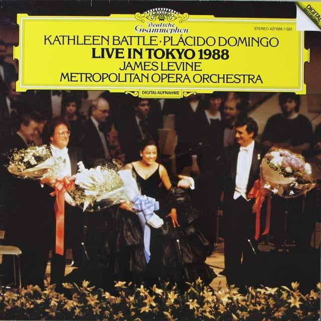 バトル&ドミンゴ/東京ライヴ1988  独DGG  2627 LP レコード