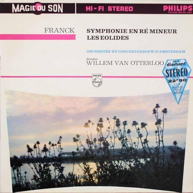 オッテルローのフランク/交響曲 仏PHILIPS 3331 LP レコード