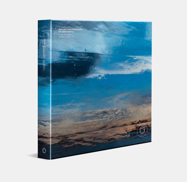 【LPレコード】 ラトル&ベルリン・フィルハーモニー管弦楽団のシベリウス/交響曲全集 <限定盤・Clear Vinyl・輸入盤・日本語帯・解説付> KKC1149/1155 7LP