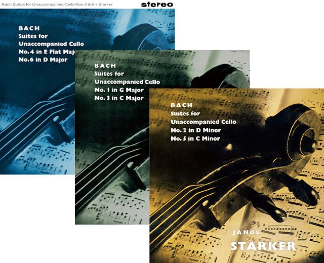 【LP レコード】 シュタルケルのバッハ/無伴奏チェロ組曲全曲 <完全限定生産/ドイツ・プレス> KKC1188/1190 3LP