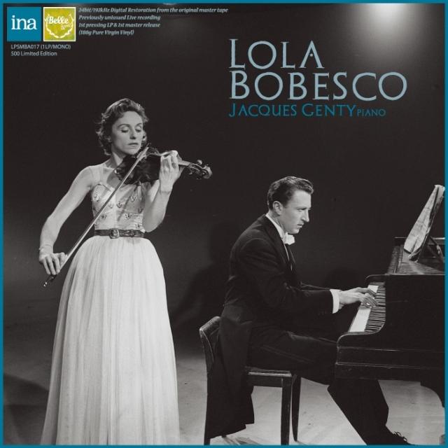 【LPレコード】 ボベスコのプロコフィエフ/ヴァイオリンソナタ第2番&ブラームス/ヴァイオリンソナタ第3番 1960年&57年セッション録音 <完全限定プレス> LPSMBA017