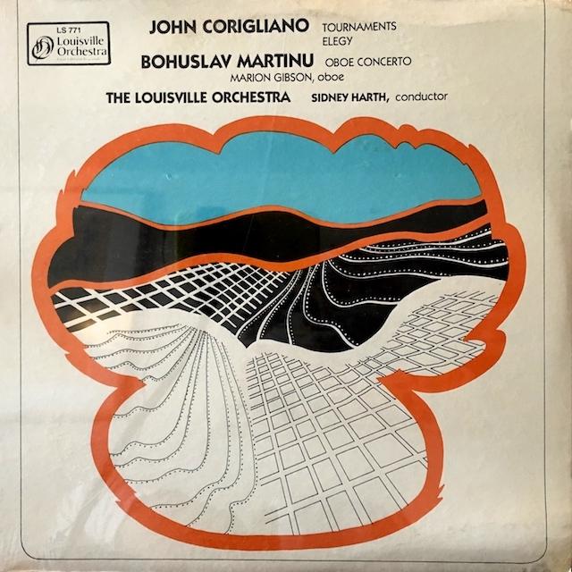 【未開封】ハースのコリリャーノ/「トーナメンツ序曲」「エレジー」ほか  米LO M1701 LP レコード