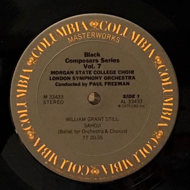 LP レコード フリーマンの黒人作...