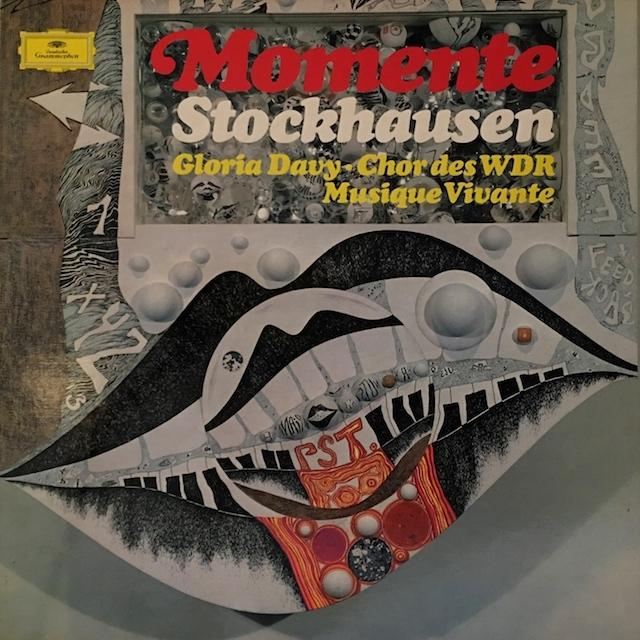 シュトックハウゼンの自作自演/「モメンテ」  独DGG M1701 LP レコード