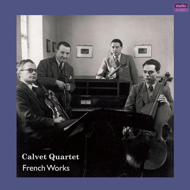 【LP レコード】 カルヴェ四重奏団 フランス音楽集 <完全限定生産盤> MELOLP023/024 2LP