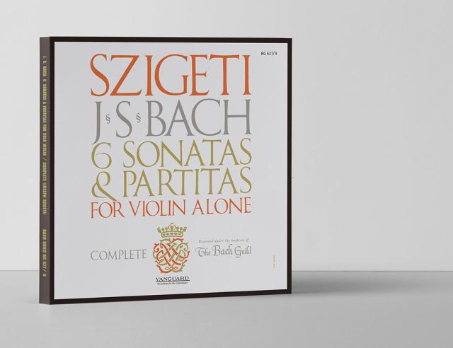 【LP レコード】 シゲティのバッハ/無伴奏ヴァイオリンのためのソナタとパルティータ BWV1001~1006(全曲) <輸入盤> KKC1159/1161 3LP