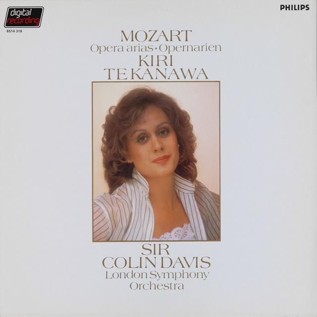 キリ・テ・カナワのモーツァルト/オペラアリア集   蘭PHILIPS  2738 LP レコード